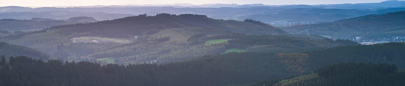 Suedwestfalen Landschaft Ginsburger Heide